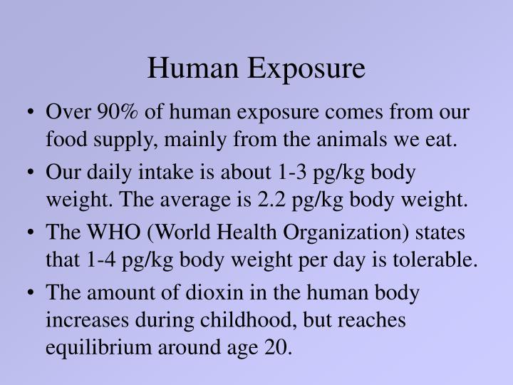 Human Exposure