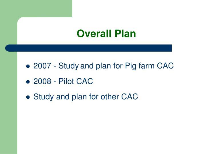 Overall Plan