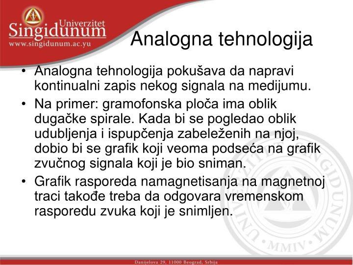 Analogna tehnologija