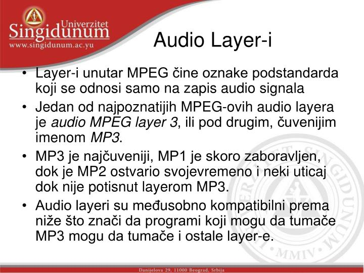 Audio Layer-i