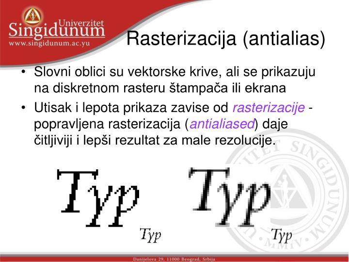Rasterizacija (antialias)