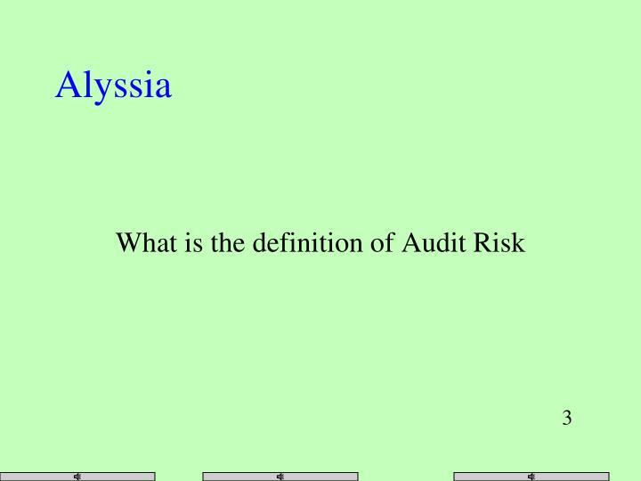 Alyssia