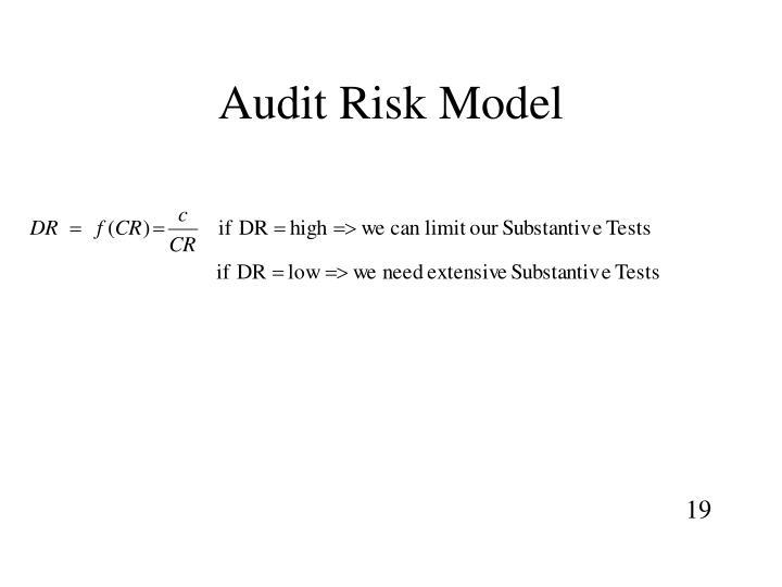 Audit Risk Model