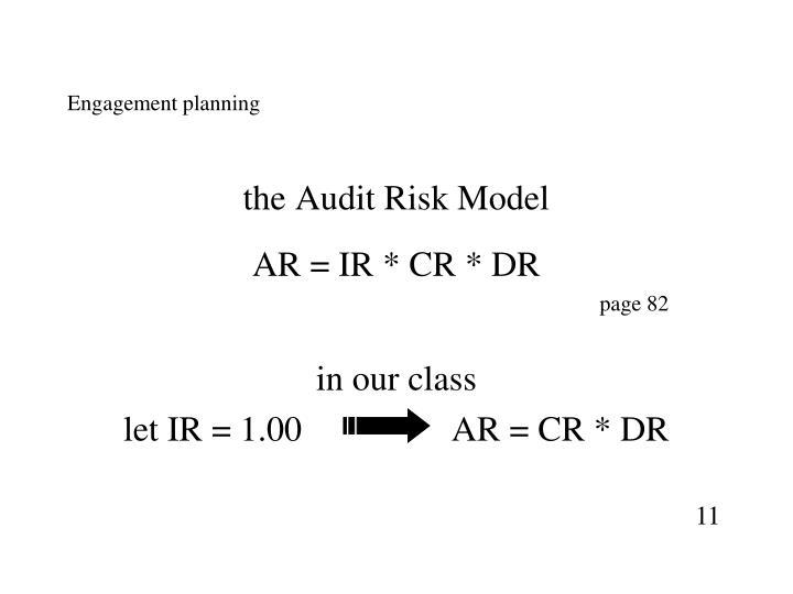 Engagement planning