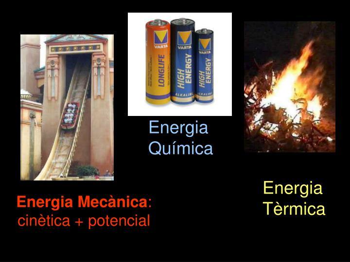 Energia Mecànica