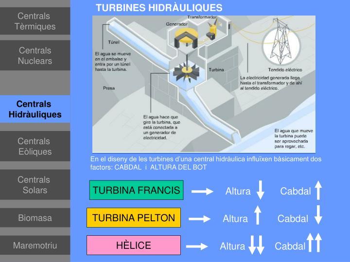 TURBINES HIDRÀULIQUES