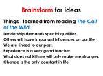 brainstorm for ideas1