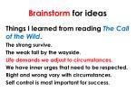 brainstorm for ideas2