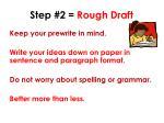 step 2 rough draft