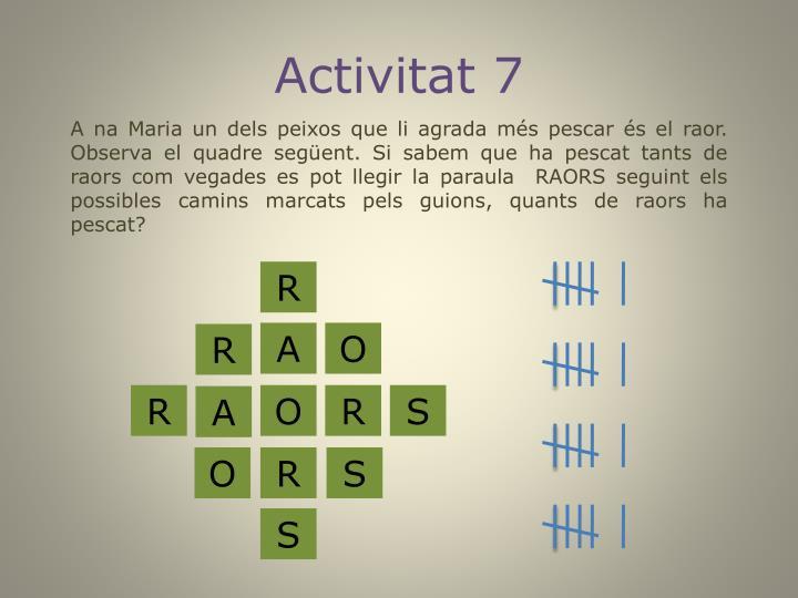 Activitat