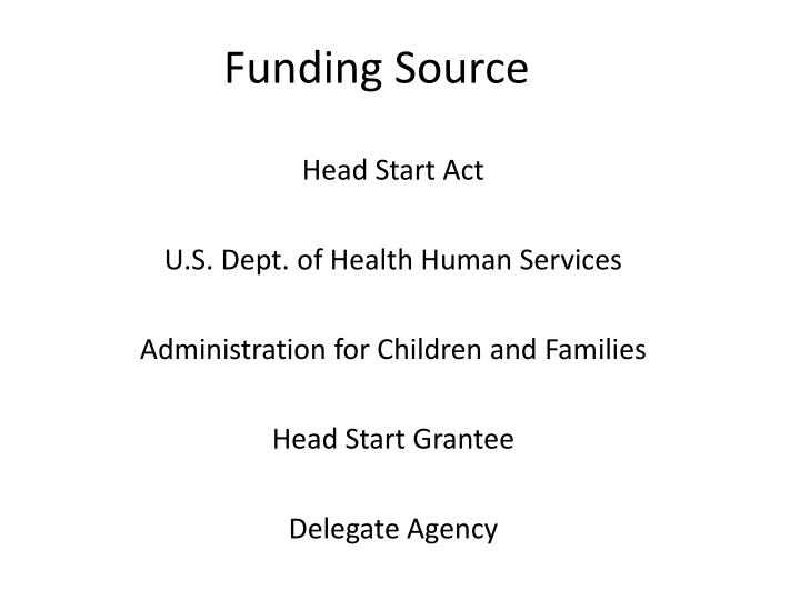 Funding Source