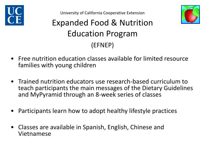 University of California Cooperative Extension