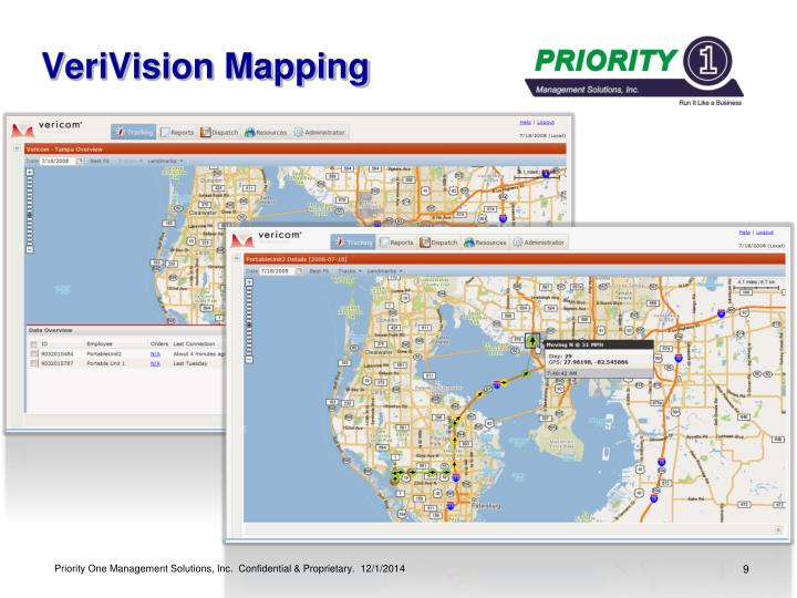 VeriVision Mapping