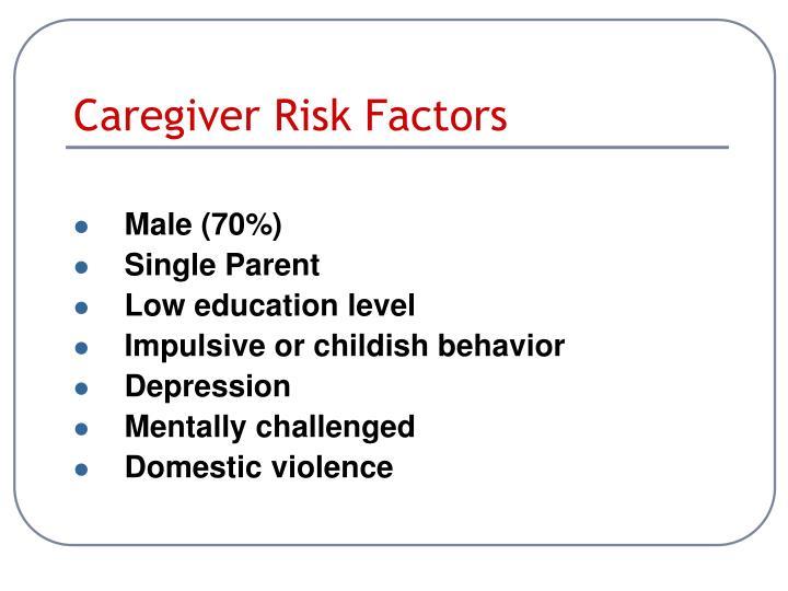 Caregiver Risk Factors