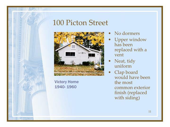 100 Picton Street