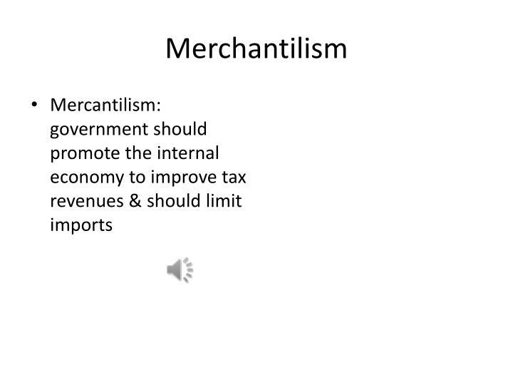 Merchantilism