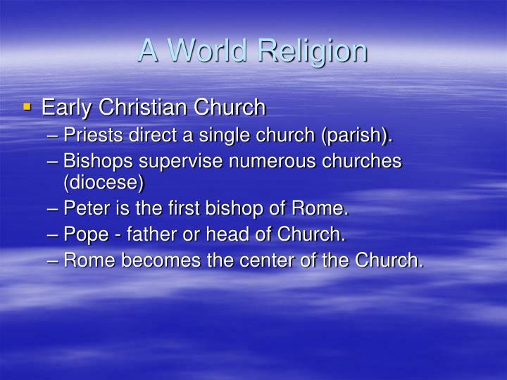 A World Religion
