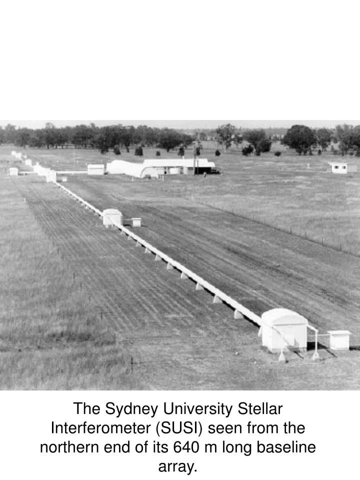 The Sydney University Stellar Interferometer (SUSI)