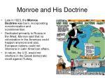 monroe and his doctrine1