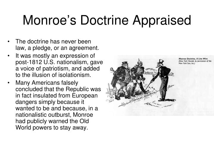Monroe's Doctrine Appraised