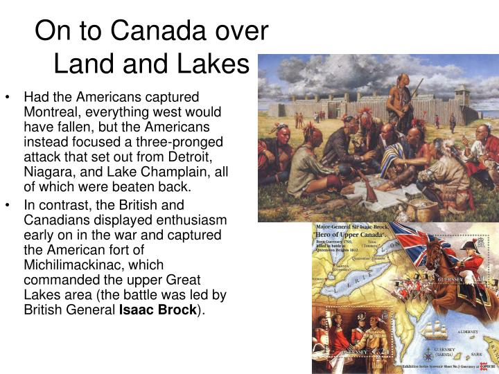 On to canada over land and lakes1