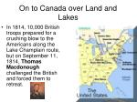 on to canada over land and lakes3