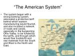 the american system1