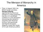 the menace of monarchy in america1
