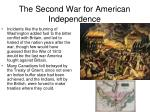 the second war for american independence2