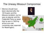 the uneasy missouri compromise1