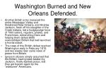 washington burned and new orleans defended1