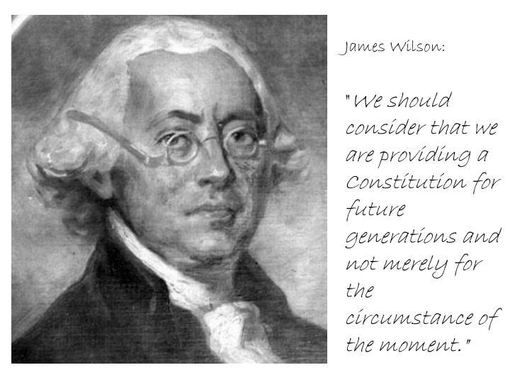 James Wilson: