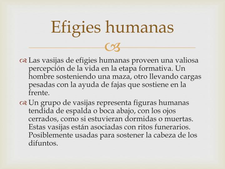 Efigies humanas