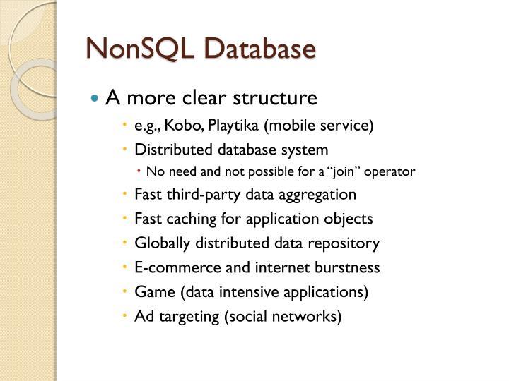 NonSQL
