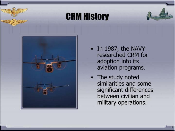CRM History