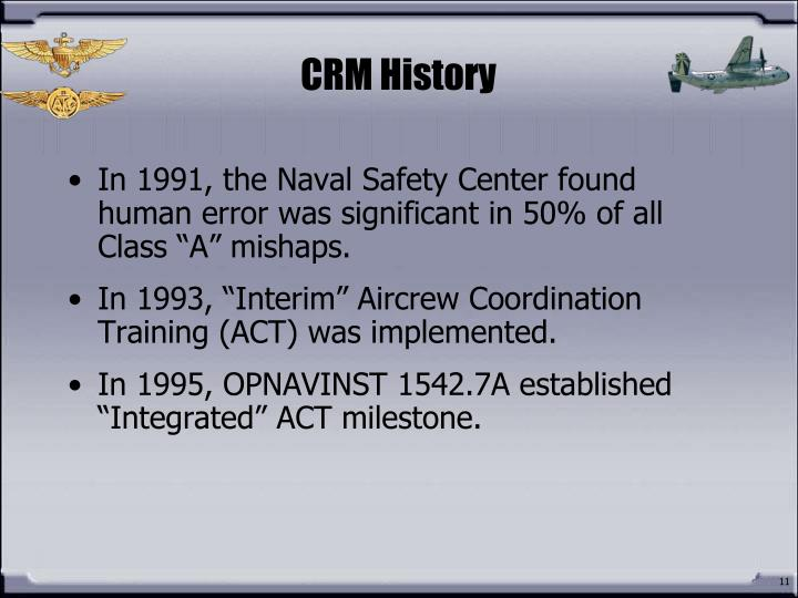 CRM History