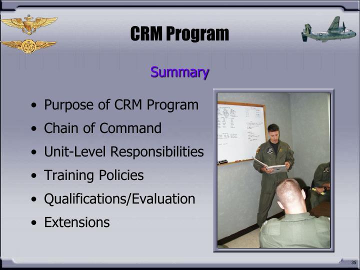 CRM Program