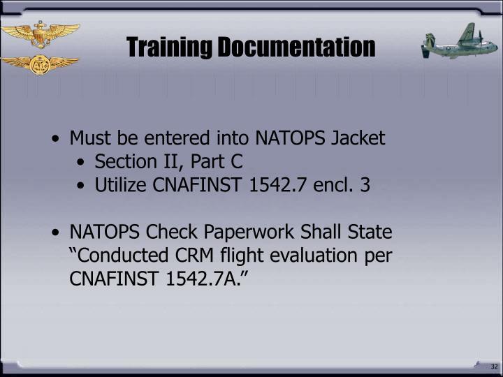 Training Documentation