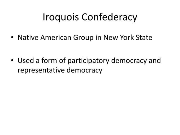 Iroquois Confederacy