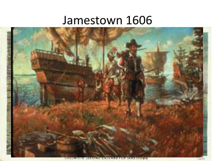 Jamestown 1606