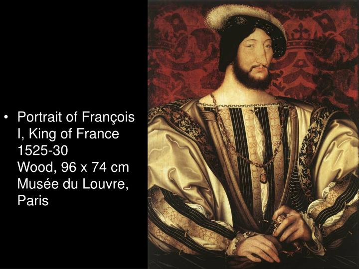 Portrait of François I, King of France