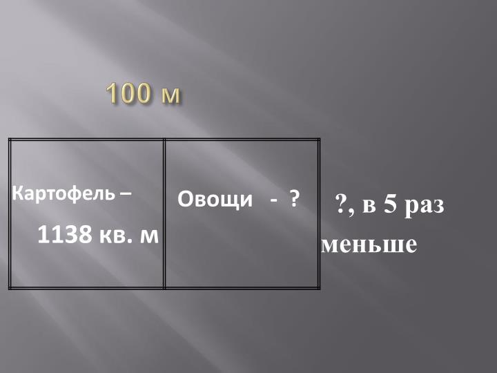 100 м