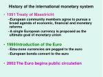 history of the international monetary system3