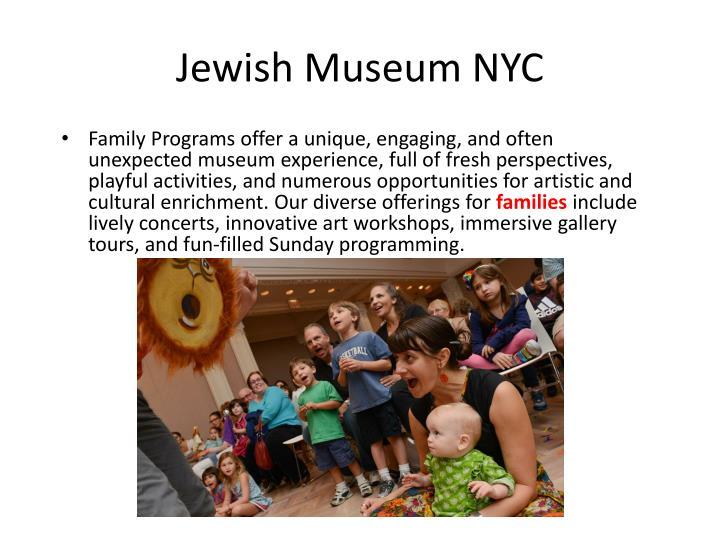 Jewish Museum NYC