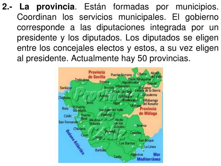 2.- La provincia