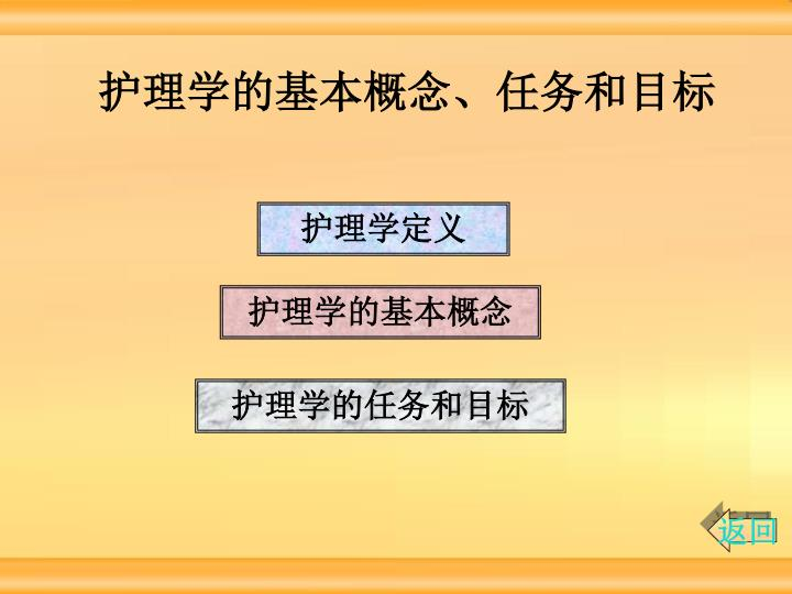 护理学的基本概念、任务和目标