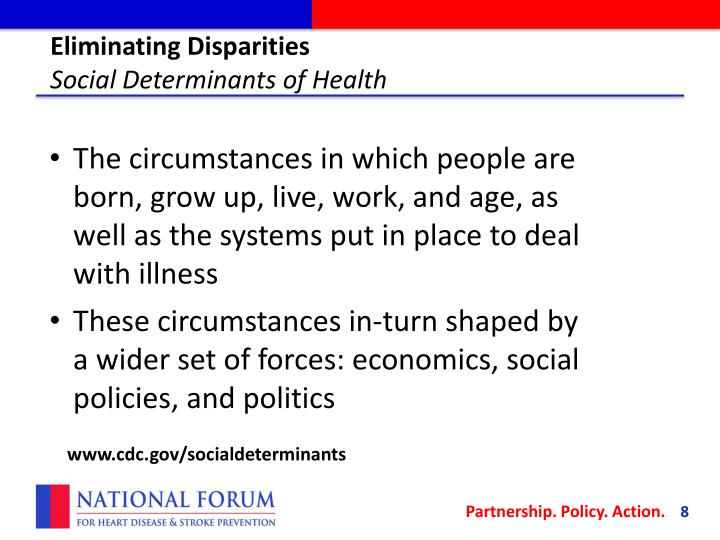 Eliminating Disparities