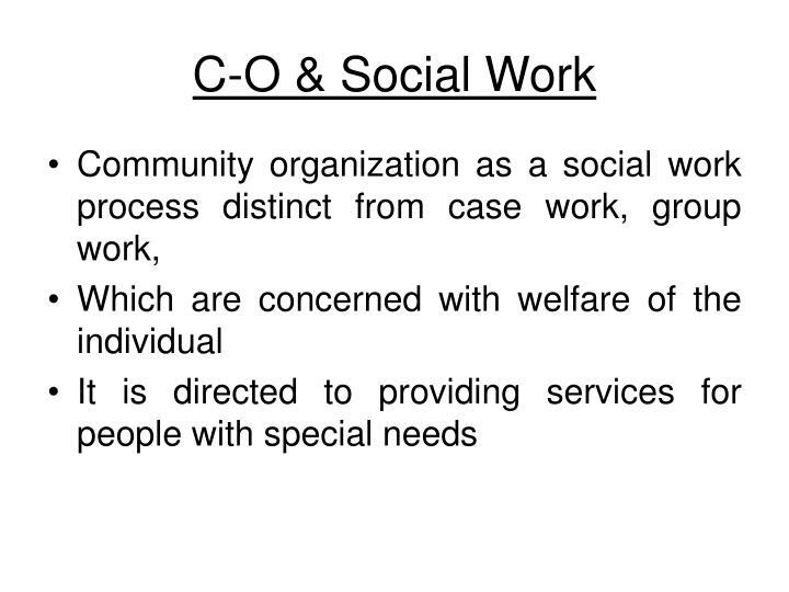 C-O & Social Work