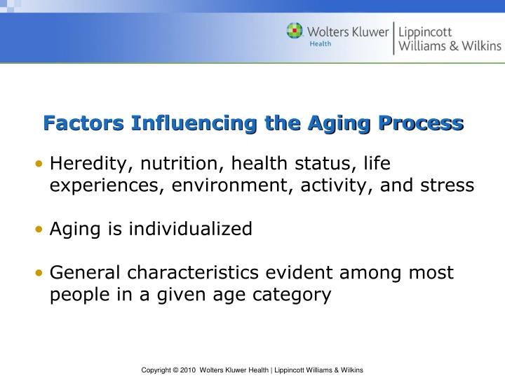 Factors Influencing the Aging Process