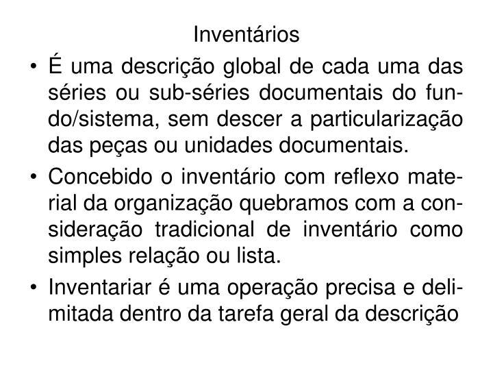 Inventários
